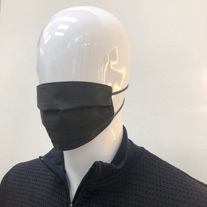 mascherina protettiva COVID19 nera
